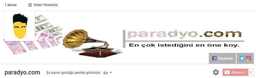 Paradyo 1 abone