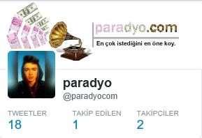 Twitter 1 takipçi