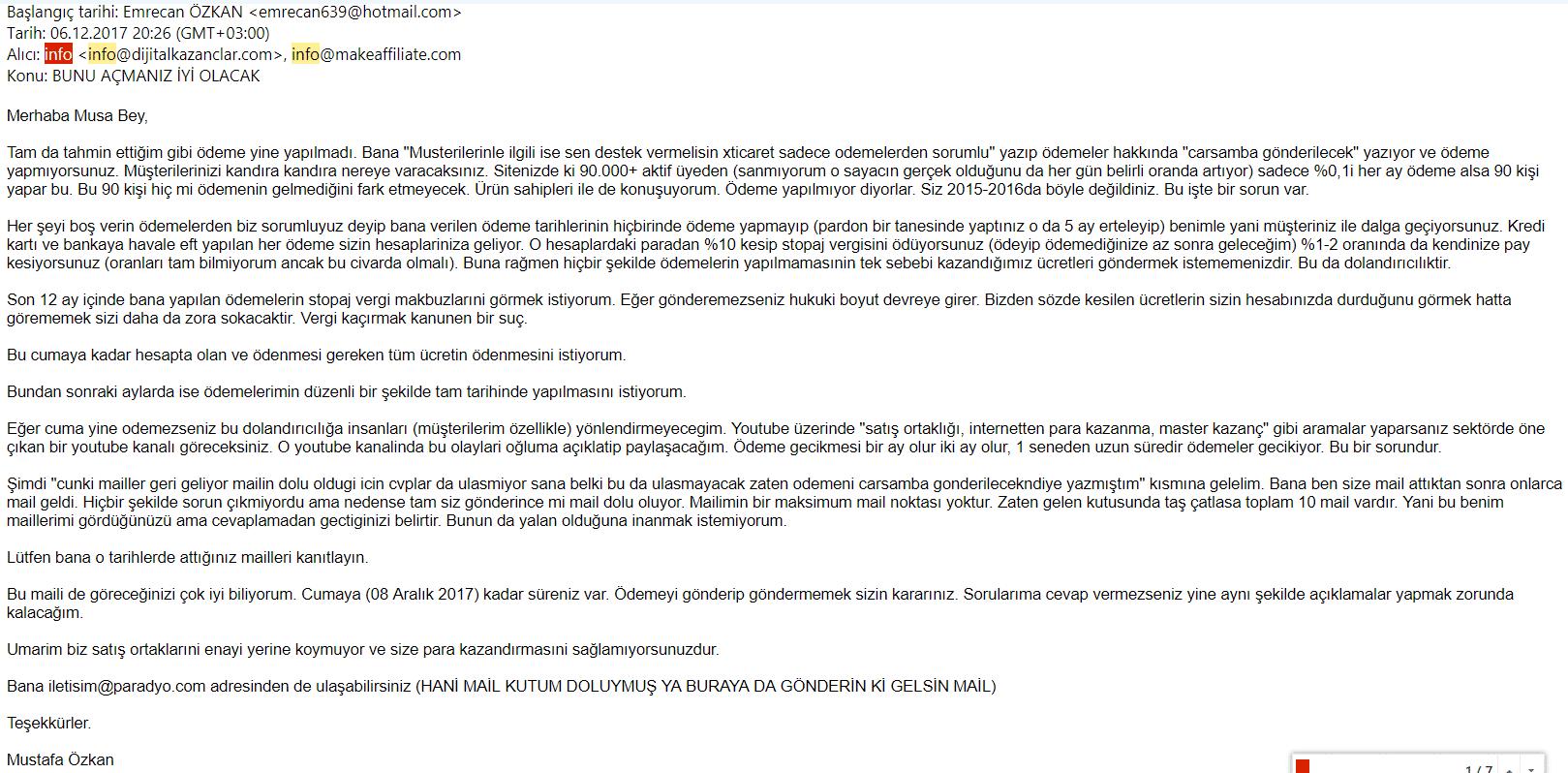 xticaret kapandı mail 3